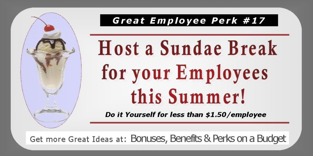 Great Ideas for Employee Perks