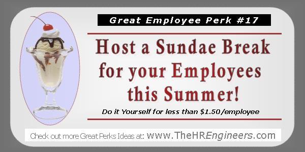 Great Employee Perk Idea