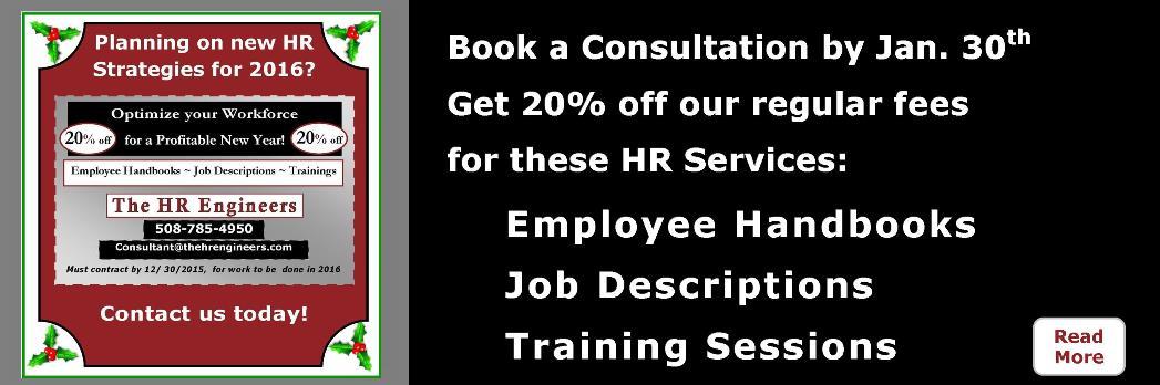 20% off HR Services