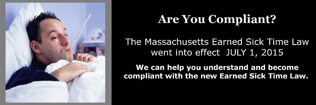 Are you Compliant with MA Earned Sick Time Law